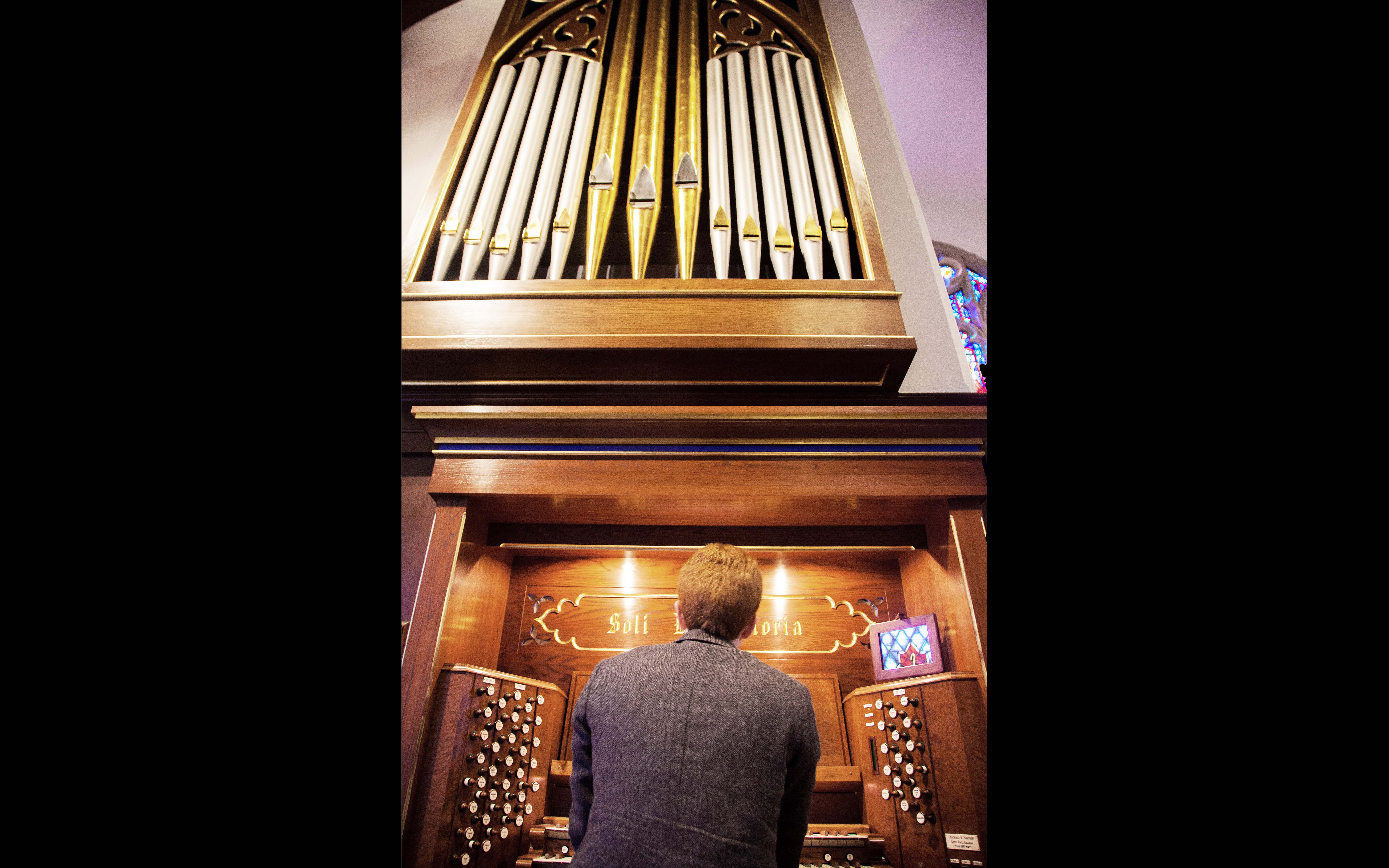 One of the most complex instruments in Western music, organs are not only difficult to play, but also tough to build. (Photo by Maddison Steward/Courtesy of Hendrix College)