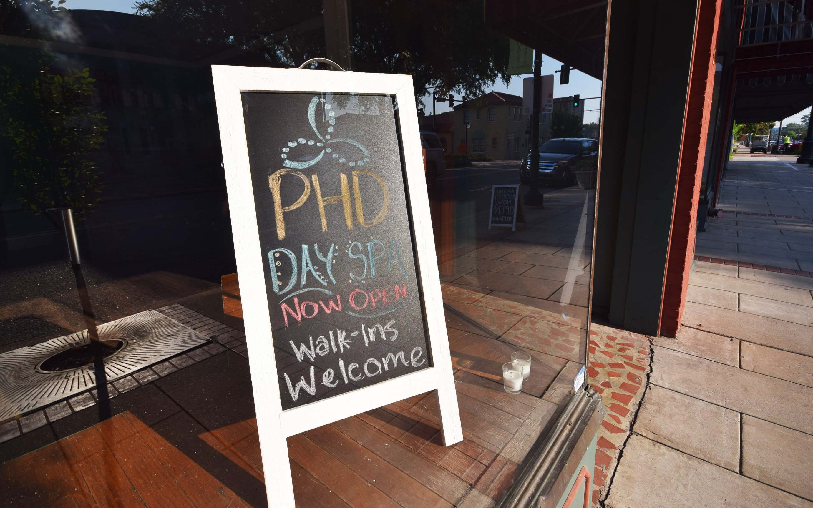 PHD Day Spa is glad to call 417 Main Street in Argenta home.