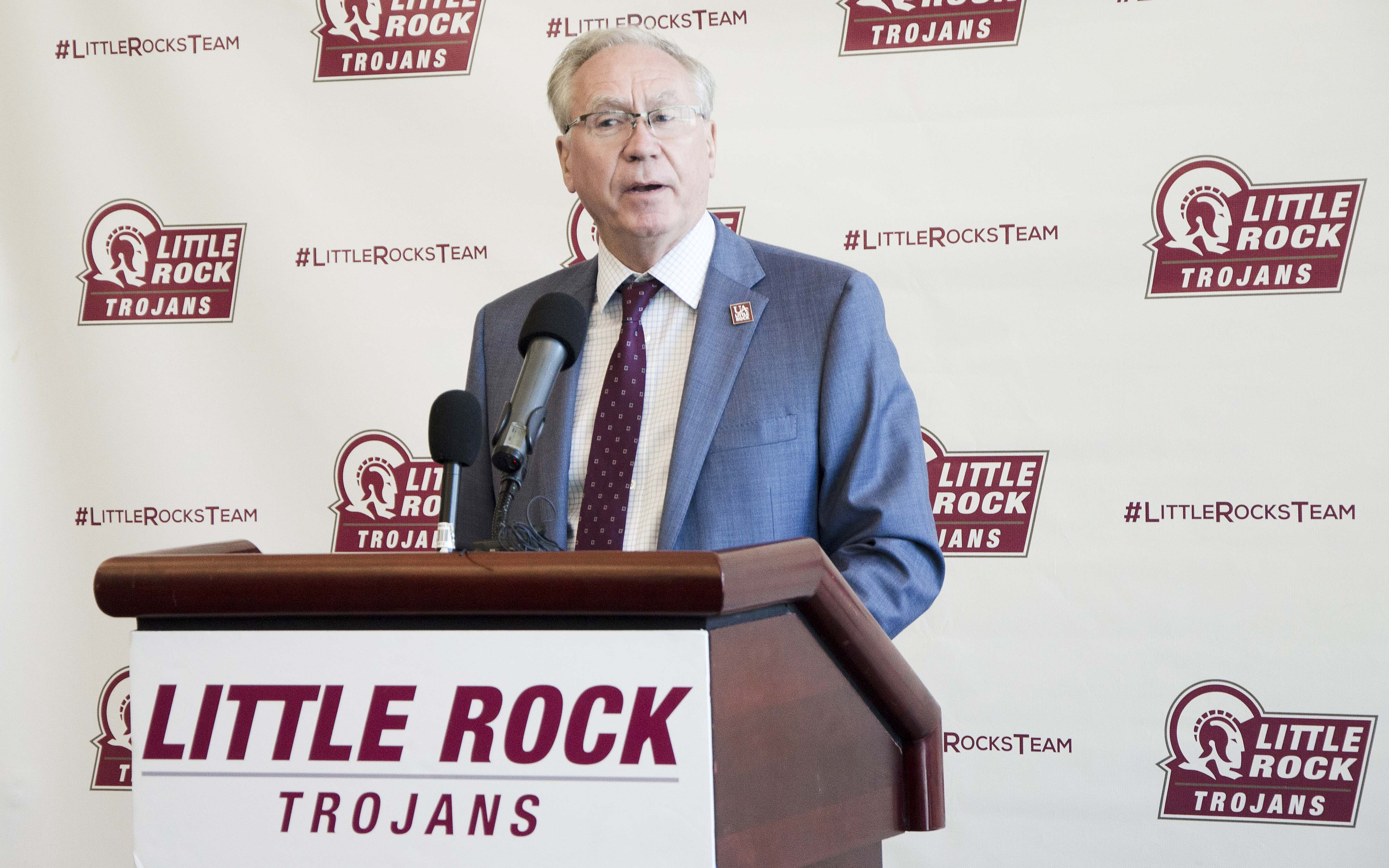UA Little Rock Chancellor Andrew Rogerson