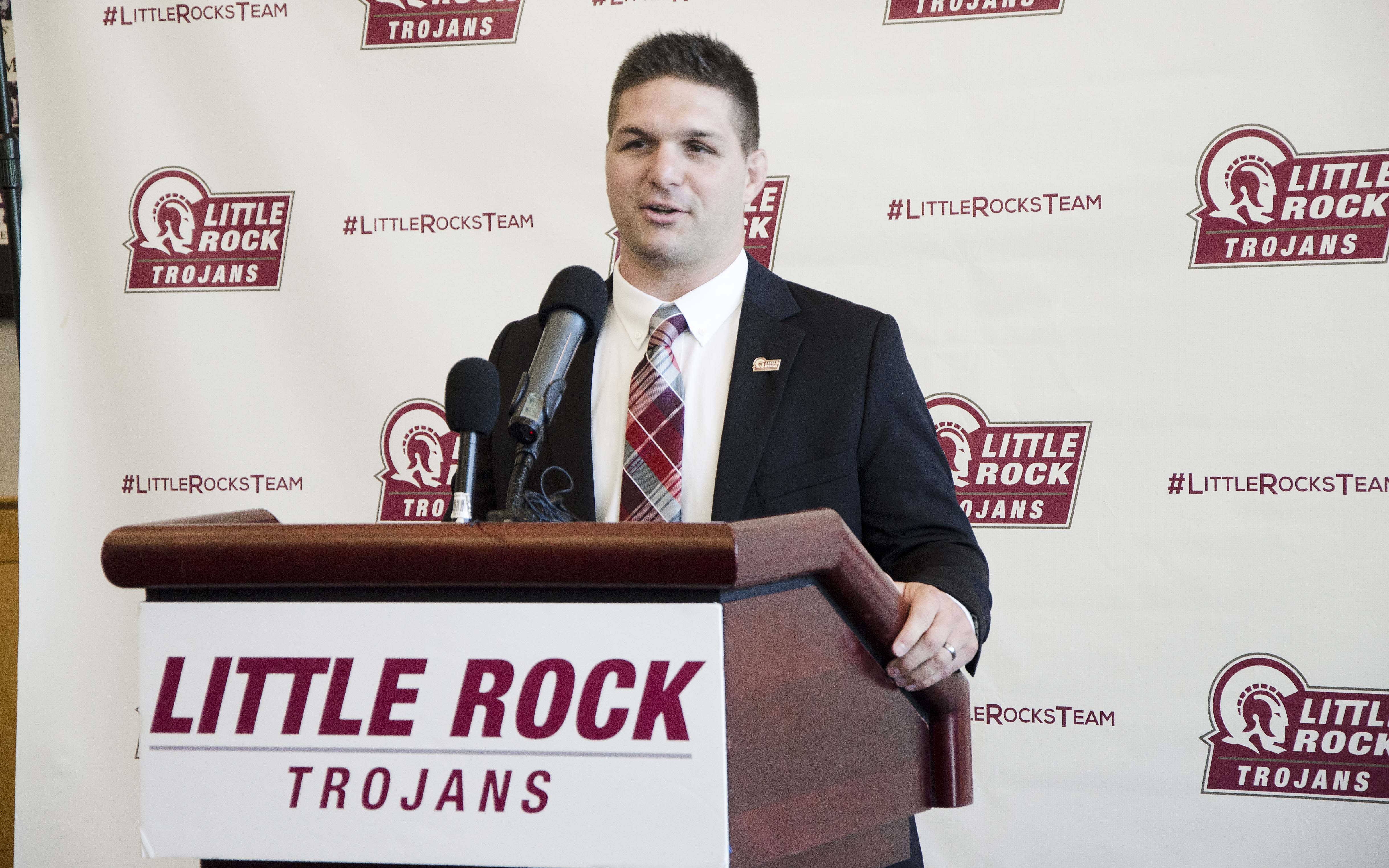 UA Little Rock Head Wrestling Coach Neil Erisman