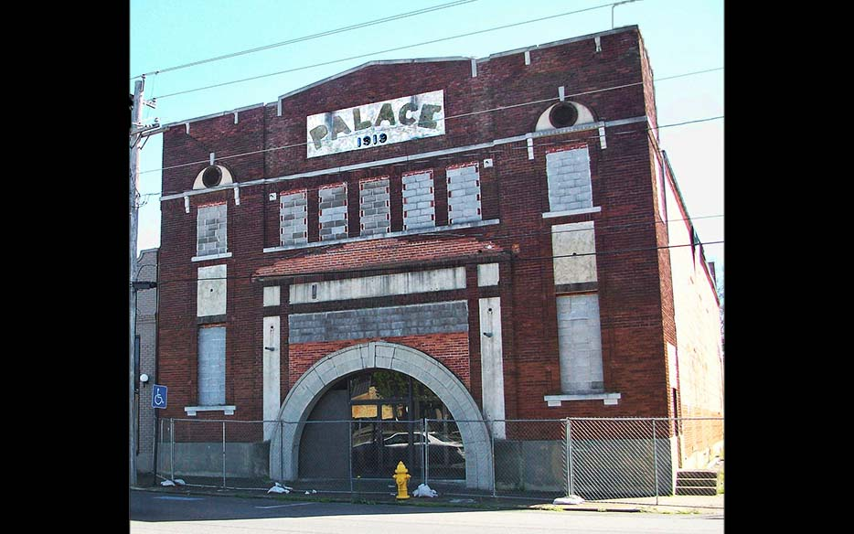 Palace Theater in Benton