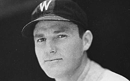Jim McLeod with the Washington Senators, 1930-1931.