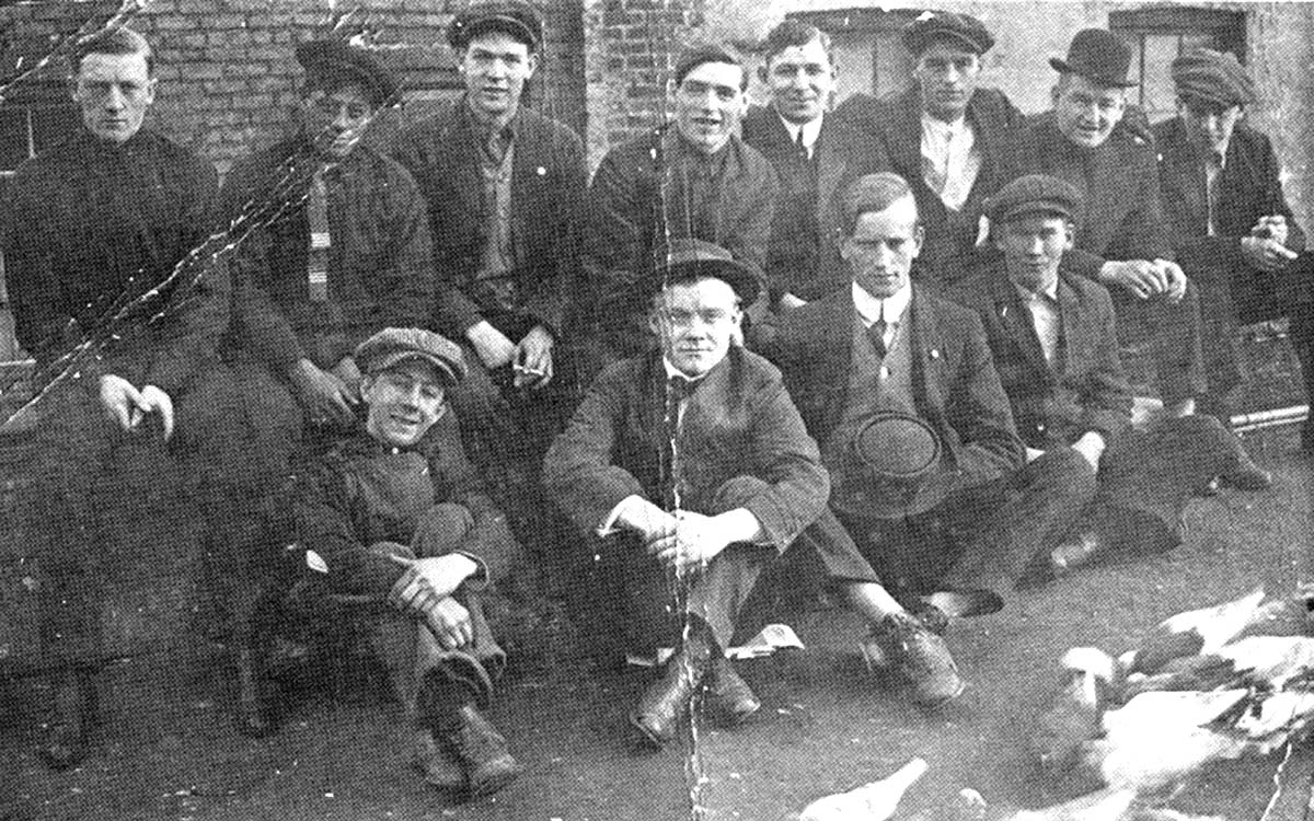 New York's infamous Gopher Gang circa 1910.